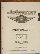 OUTBOARD PARTS MANUAL EVINRUDE JOHNSON YEAR 1998 CATALOG 6HP 8HP MOTORS OMC EBAY