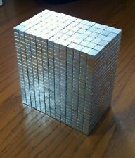 200 NEODYMIUM block magnets. Super strong N50 rare earth magnets!