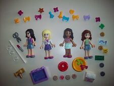 Lego Minifigure Friends Lot ~ 4 Girls With Tons of Accessories - Lot E