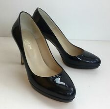 Hobbs London Black Patent Heels Size 37 Worn Twice Immaculate Condition