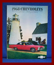 1968 CHEVROLET Color Sales Brochure - Full Line New Old Stock
