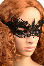 Fancy Dress Ball Black Lace Eye Mask Venetian Masquerade Face Costume Fun Party