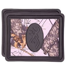 Browning Pink Camo Utility Floor Mat (Mossy Oak Break-Up Camo, Durable Molded PV