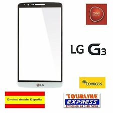 PANTALLA TACTIL DIGITALIZADOR CRISTAL PARA LG G3 D855 D850 COLOR BLANCO