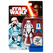 """Star Wars The Force Awakens Snow Mission 3.75"""" Figure - First Order Stormtrooper"""