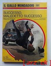 IL GIALLO MONDADORI 1257 Successo Maledetto Successo MAURICE CULPAN 1973