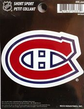 "Montreal Canadiens Habs 3"" Flat Vinyl Sport Die Cut Decal Bumper Sticker Hockey"
