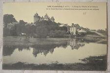 """CPA """" COMBOURG - L'Etang du Moulin et le Château"""