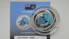 2010 Pitcairn Islands $2 Jellyfish Silver Proof coin w/ CoA