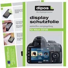 6x dipos Nikon D3100 Pellicola Prottetiva Antiriflesso Proteggi Schermo