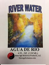 NEW AGE BOTANICA PRODUCTS GENUINE RIVER WATER 4 FL OZ ( AGUA DE RIO)