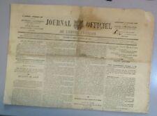 Journal Officiel de l'Empire Français. 1re année. n° 189. Dim. 11 juillet 1869.