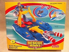 Rescue Heroes Quick Response Watercraft Factory Sealed!