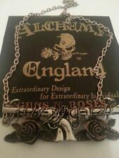 GUNS AND ROSES- necklace by ALCHEMY GOTHIC-HARD ROCK,HEAVY METAL