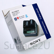 Original SONY AC-VQH10 Dual V H P Series Battery Charger UK Power Supply Genuine