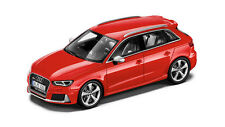 Genuine Audi RS3 Sportback 1:43 Scale Model - Catalunya Red