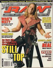 WWE Raw February 2004 Shawn Michaels w/Poster VG 032916DBE