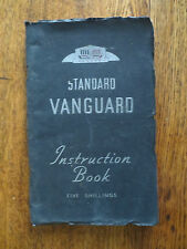 Vintage 1949 Standard Vanguard owner's manual