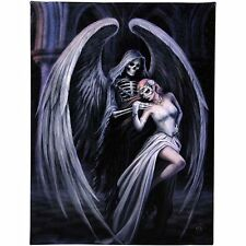 Dance With Death Anne Stokes Wall Plaque Gothic Angel Fantasy Art Canvas Picture
