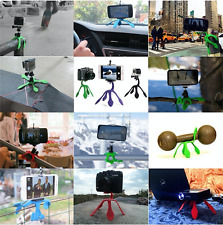 Flexible Portable Purple Tripod for iPhone Digital Camera Webcam Action Camera
