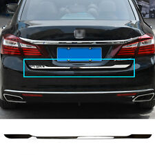 Stainless Rear Trunk Boot Tailgate Door Cover Trim Strip For HONDA ACCORD 13-17