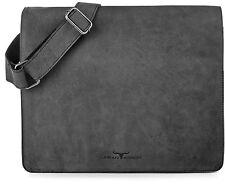 URBAN FOREST Handtaschen Messenger Dunkelgrau Anthrazit Schwarz 35x27x10cm