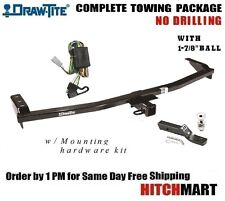 "CLASS 3 TRAILER HITCH PACKAGE FOR 2001-2006 ACURA MDX,  w 1 7/8"" BALL  75599"
