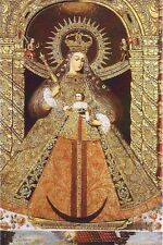 Postcard Luis Nino Our Lady of the Victory of Malaga Denver Art Museum MINT