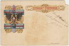 25°REGGIMENTO FANTERIA FANO CASTELFIDARDO ANCONA GAETA S.GIULIANO VG.1904