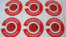 LIVERPOOL 16 CROWN GREEN BOWLS STICKERS LAWN BOWLS 8 FINGER + 8 THUMB PEG