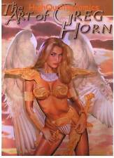 ART of GREG HORN Hc/dj, NM, Limited Signed Numbered, 2004, still shrink wrapped