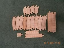 Lot of 17 Thomas The Train Wooden Tracks