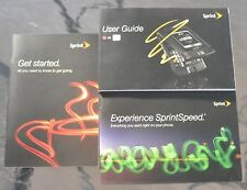 SPRINT LG LOTUS CELLPHONE USER GUIDES/GET STARTED GUIDE