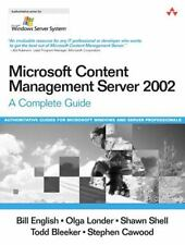 Microsoft Content Management Server 2002: A Complete Guide (Microsoft Windows Se