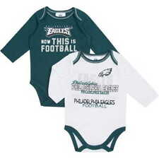 2016-2017 Philadelphia Eagles 2-PIECE nfl INFANT BABY NEWBORN Jersey Shirts 0-3M