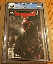 RED HOOD THE LOST DAYS #1 MATTINA VARIANT COVER CGC 9.6 NM+ WHITE