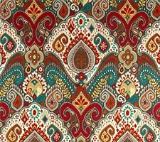 Outdoor/ Indoor ~ Upholstery ~ BOHO ~ Multi ~ Fabric~  per 1 yard