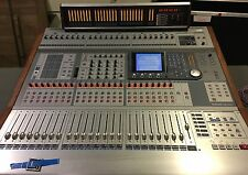 TASCAM DM-4800 WITH METER BRIDGE AND EXTRAS. Console Software Surface Controller