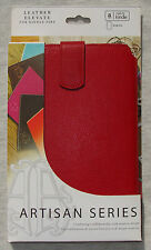 NEW Tribeca Artisan Series Leather Elevate Case for Amazon Kindle Fire - Red