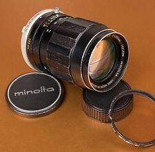 MINOLTA MC Tele ROKKOR-QD 135mm f/3.5 Lens for MC Mount or adapt to mirrorless