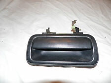 OEM 00 Isuzu Rodeo Black Rear Driver's Side Exterior Door Handle Assembly, LH