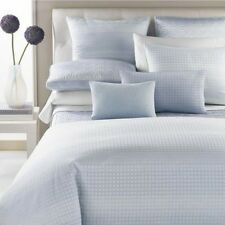 Hudson Park Ombre Grid 100% Egyptian Cotton CAL KING Bedskirt CLOUD BLUE F736
