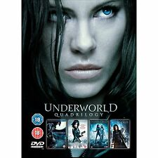 Underworld Quadrilogy 1 2 3 4 Complete Box Set Collection | New | Sealed | DVD