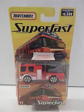 "MATCHBOX SUPER FAST #11  ""DENNISE SABRE""  FIRE ENGINE  NIP"