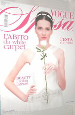 VOGUE SPOSA N 124 Marzo 2013 Abito da White Carper Beauty Festa con vista di e