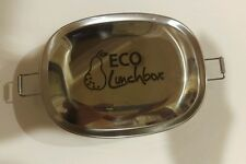 ECO 2 Piece Stainless Steel Lunch Box Set
