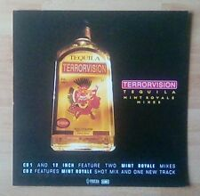 "TERRORVISION  -Promotional 12"" x 12"" Card (Flat) Tequila (ideal for framing)"