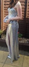 PROM DRESS FROM RED CARPET READY. SILVER SEQUIN