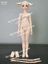 Resin Fairyland MiniFee Rin free eyes + Face MakeUp Girl M-Line (Full Bust) Body