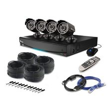 SWANN DVR4-3450 4 CHANNEL CCTV SECURITY KIT 500GB DVR 4 X PRO 735 CAMERAS